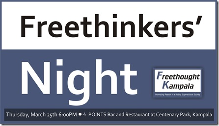 freethinkers' night - march 2010