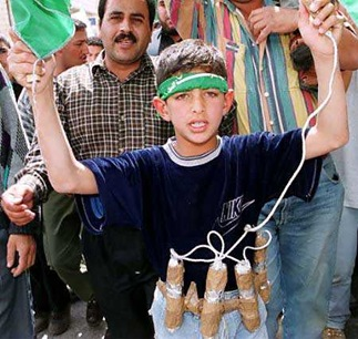 young suicide bomber