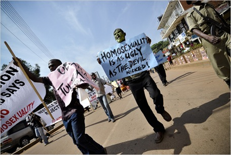 Anti Gay Demonstrations 2
