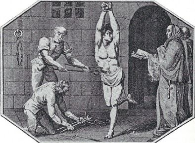 Religion inspired torture by Christians