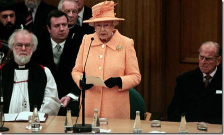 Queen Elizabeth - synod