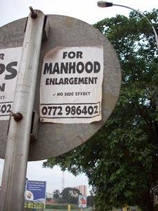 manhood enlargement
